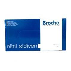 Broche Nitril Eldiven L / 100adet