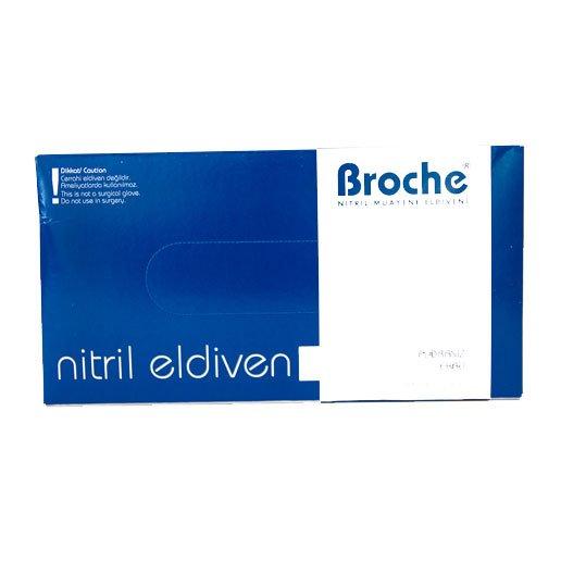 Broche Nitril Eldiven S / 100adet